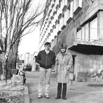 Армения 1989 год. Ереван.