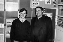 Валерий Баглай и Андреев Николай Сергеевич, учитель физкультуры