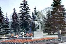 Москва. Кремль. Памятник Ленину.