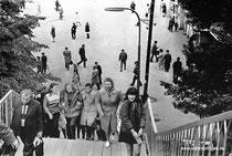 ОДИНЦОВО. XX век.   Старый ж.д. мост ст, Выход на площадь.