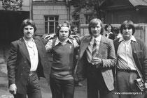 А. Комаров, В. Шахов, ---, И. Алексеенко
