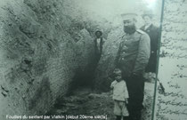 V.L. Vyatkin pendant les fouilles, Musée de l'Observatoire d'Ulugh Beg à Samarcande (photo : M.Schvoerer, 2008)