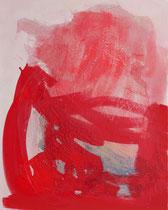 ohne Titel, 2019, 80 x 100 cm, Wachs, Öl auf Leinen