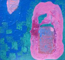 ohne Titel, 2019, 50 x 50 cm, Öl auf Leinwand