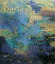 Sommerbild 2014, Mischtechnik auf Leinwand, 180 x 150 cm