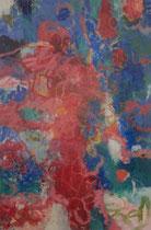 ohne Titel, 2016, Öl, Ölkreide auf Leinwand, 180 x 130 cm