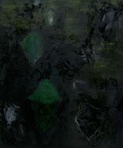 Kokons, 2014, Mischtechnik auf Leinwand, 180 x 150 cm