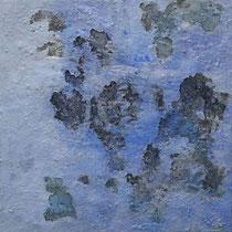 ohne Titel, 2017, Öl auf Leinwand, 80 x80 cm