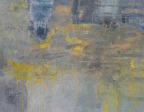 ohne Titel, 2018, Öl, Graphitstift auf Leinen, 130 x 170 cm