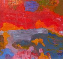 ohne Titel, 2019, 100 x 100 cm, Öl auf Leinwand