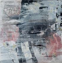 ohne Titel, 2016, Acryl auf Leinwand, 50 cm x 40 cm