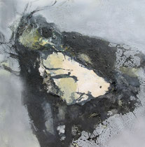 Chrysalis, 2014, Mischtechnik auf Leinwand, 50 x 50 cm