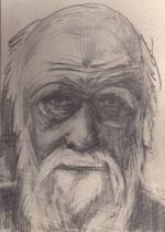 Charles Darwin, Bleistift 1970