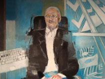 Porträt Walter Dorfmeister (Detail),2008