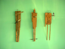 Grazien kulinarisch, Holz, Besteck 2003