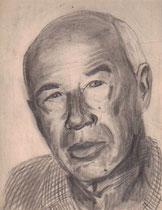 Henry Miller, Bleistift 1969