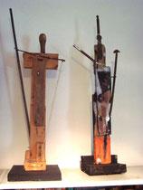 2 Wächterfiguren, 1985