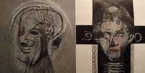 Römische Porträts, Collage 1975