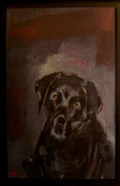 Annie, Acryl 1998