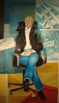 Porträt Walter Dorfmeister, Acryl 2008