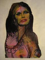 Übermalung Rachel Welch, 1984
