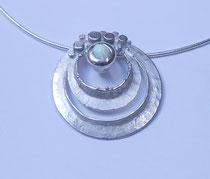 925 Silber / Opal