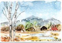 初冬の浅間高原