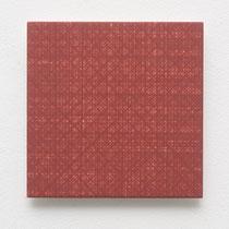 51. Arbeit 2014, 15 x 15 cm, Gouache auf Keramik