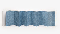 150. Arbeit 2020, 36 x 240 cm, Acryl auf Aquarell, Leparello