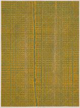 80. Arbeit 2018, 41,5 x 31 cm, Arcyl auf Offsetdruck