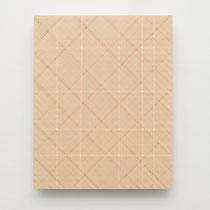 14. Arbeit 2015, 30 x 24 cm, Acryl auf MDF- Platte, Kunstmuseum Bonn