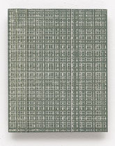 158. Arbeit 2016, 19,5 cm x 15,5 cm, Acryl auf Hartfaserplatte