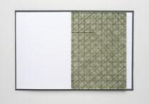 6. Arbeit - 2, 2010, 24 x 256 cm, 7 Aquarelle / Leporello