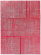 20. Arbeit 2018, 93,5 cm x 69,5 cm, Acryl auf Chromoluxkarton