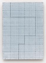 138. Arbeit 2016, 32 x 23,5 cm,  Acryl auf Hartfaserplatte