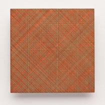 41. Arbeit 2014, 15 x 15 cm, Guasche auf Keramik