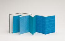 18. Arbeit 2013, 29 x 164 cm, 8 Aquarelle / Leporello