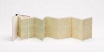 16. Arbeit 2013, 21 x 118 cm, 8 Aquarelle / Leporello