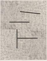 10. Arbeit 2019, 27,5 x 21,5 cm, Collage