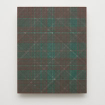 12. Arbeit 2015, 30 x 24 cm, Acryl auf MDF- Platte