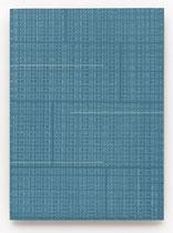147. Arbeit 2016, 32 x 23,5 cm,  Acryl auf Hartfaserplatte