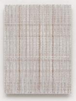 15. Arbeit 2017, 23,5 cm x 24,5 cm, Acryl auf Hartfaserplatte