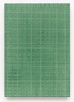 157. Arbeit 2016, 47 cm x 32,5 cm, Acryl auf Hartfaserplatte