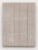 20. Arbeit 2017, 23,5 cm x 24,5 cm, Acryl auf Hartfaserplatte