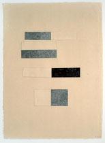 40. Arbeit 2005, 51 x 38 cm, Collage