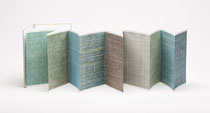 36. Arbeit 2013, 36 x 288 cm, 12 Aquarelle / Leporello
