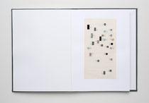 """7 Collagen, """"Multiple Persönlichkeitsstörung 2007-2008"""", 29 x 315 cm, Collagen / Leporello"""