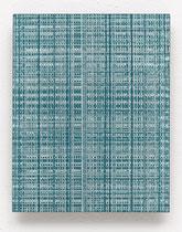 161. Arbeit 2016, 19,5 cm x 15,5 cm, Acryl auf Hartfaserplatte