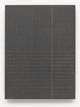 16. Arbeit 2017, 23,5 cm x 24,5 cm, Acryl auf Hartfaserplatte