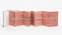 113. Arbeit 2020, 31 x 184 cm, Aquarell, Leparello